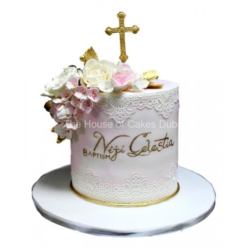 baptism cake 2 7