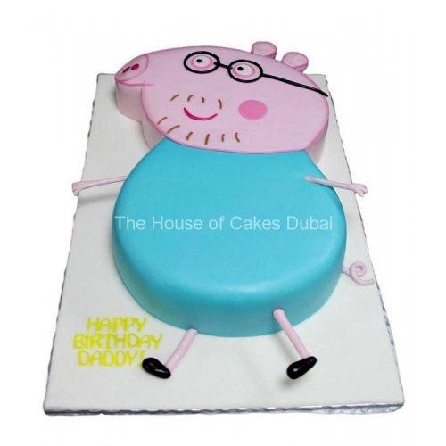 daddy pig cake 7