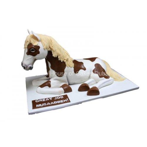 3d pony cake 7