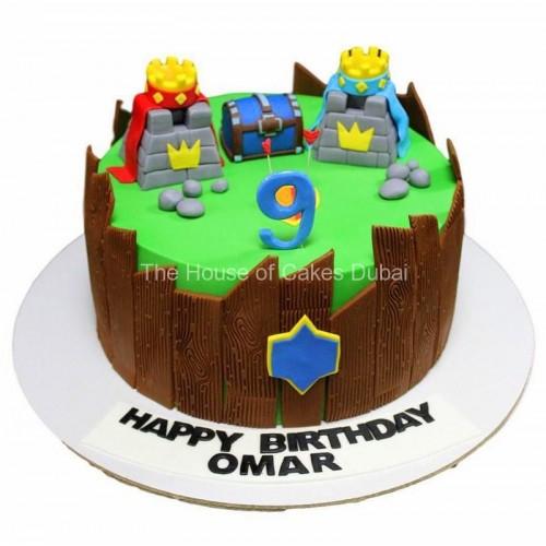 clash royale cake 1 7