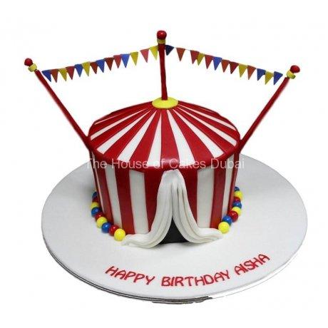 circus cake 9 6