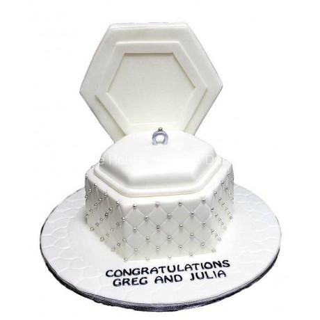 engagement ring cake 6 6