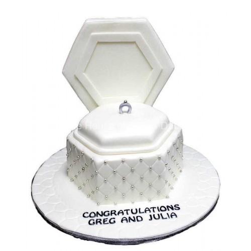 engagement ring cake 6 7