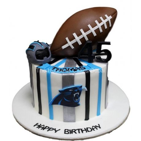 American football NFL cake
