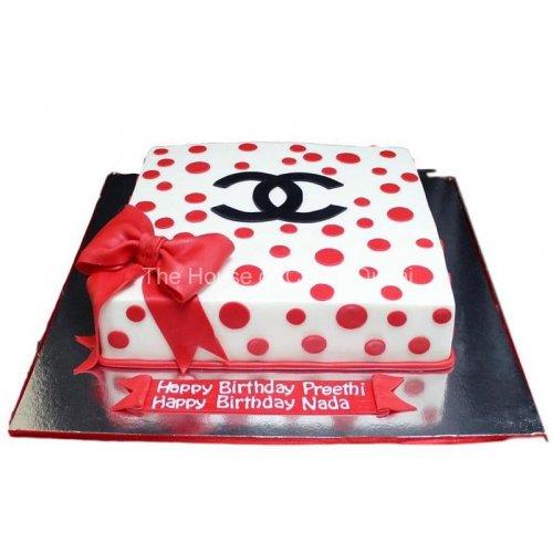 Chanel cake 9
