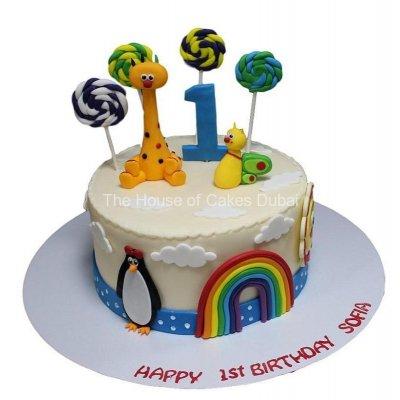 Baby TV cake 2