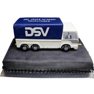 DSV track cake