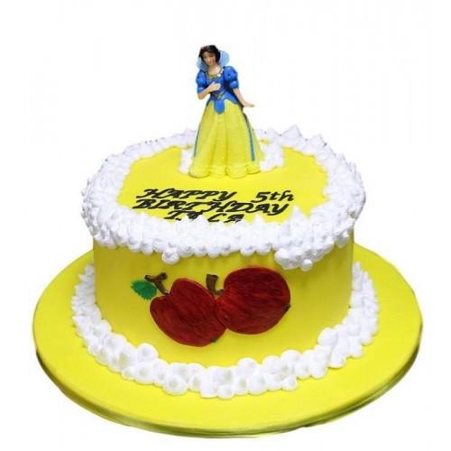 snow white cake 5 7
