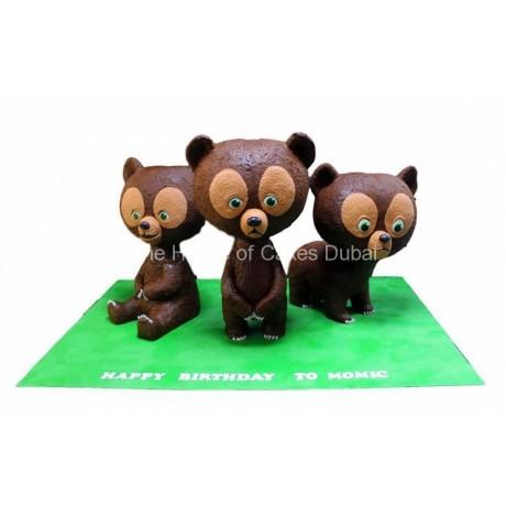 brave bears cake 6