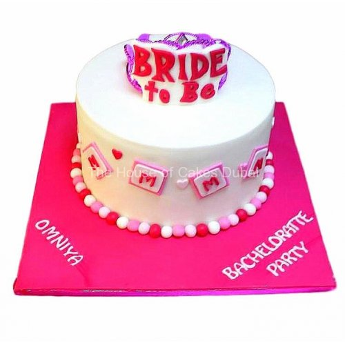 Bride to be cake 2