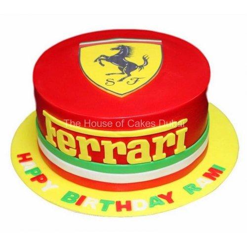 Ferrari cake 12