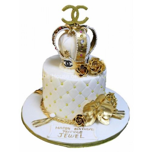 Chanel cake 10