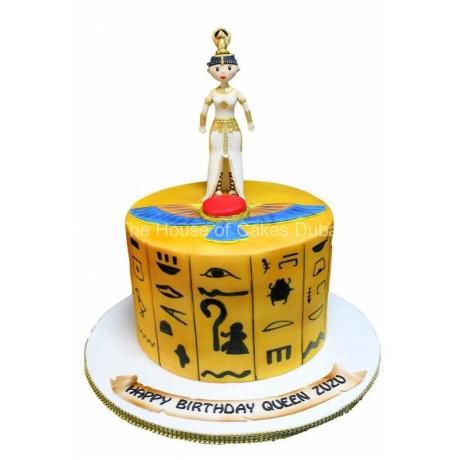 egypt theme cake 6