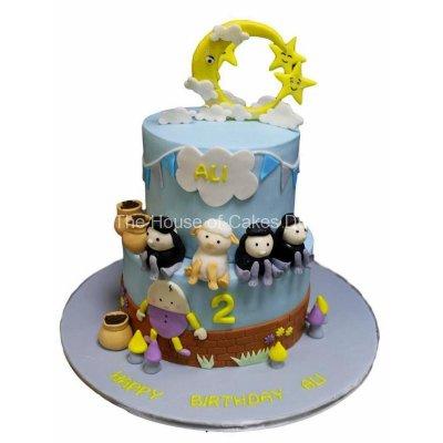 Nursery rhymes cake - Little baby bum