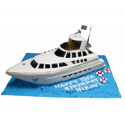 Yacht cake 5