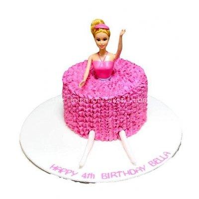 Barbie Cake 20