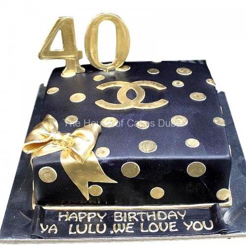Chanel cake 11