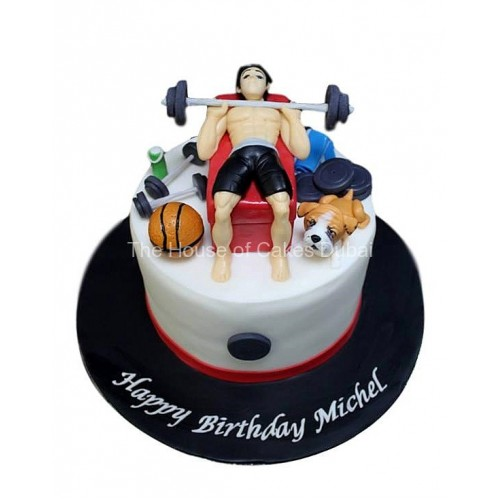 fitness and other favourite things cake 7