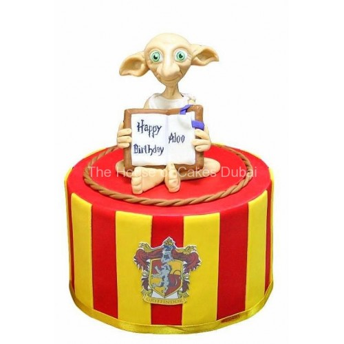 Dobby the House Elf cake from Harry Potter