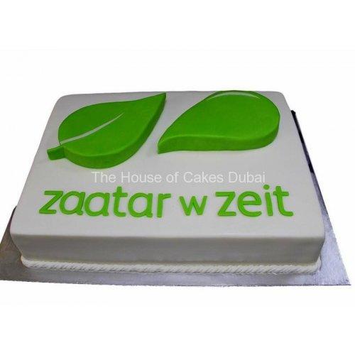 Zaatar vs Zeit Cake
