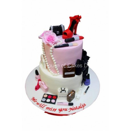 Fashionista cake 2