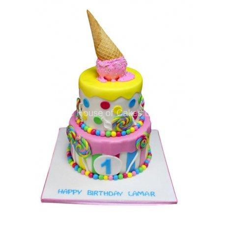 fun candy cake 6