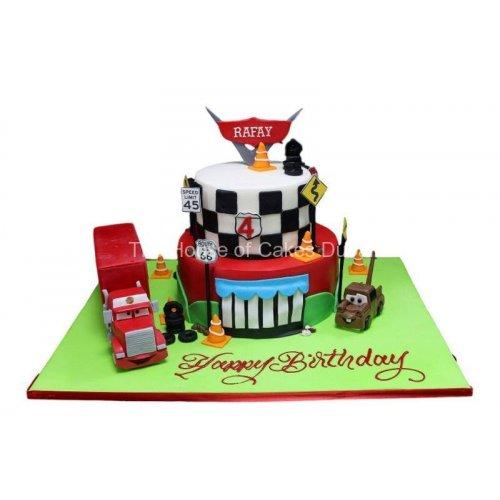 Disney cars cake 11