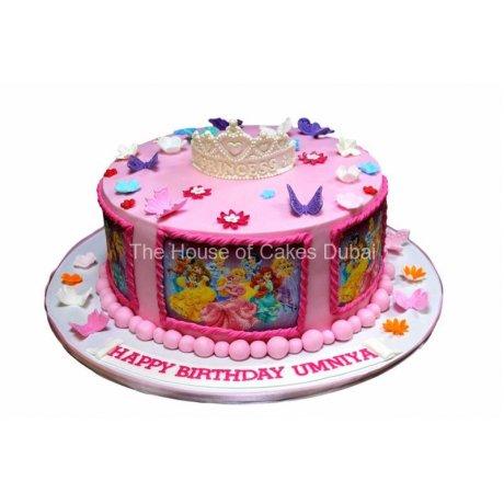 Disney Princesses cake 24
