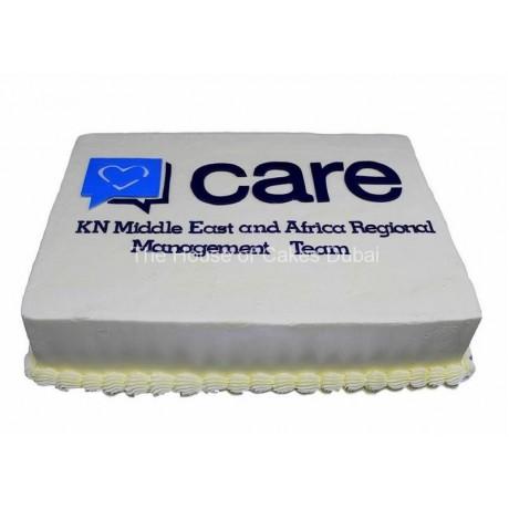 Care corporate cake