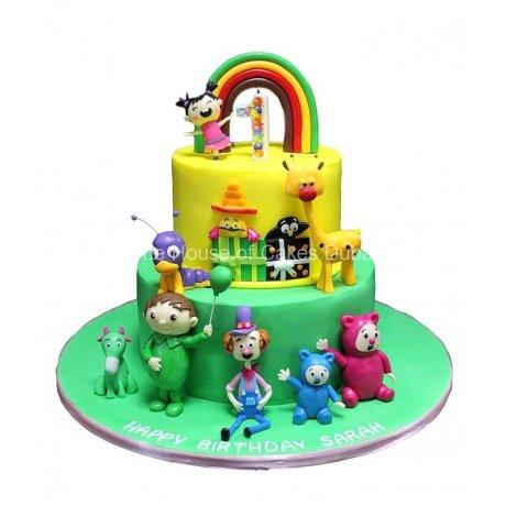 baby tv cake 6