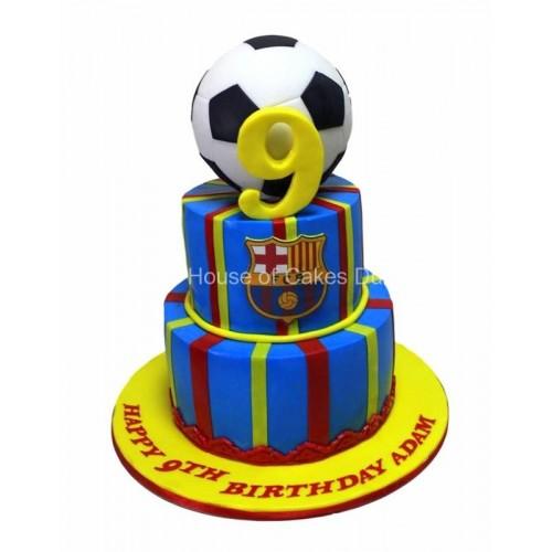 barcelona cake 9 8