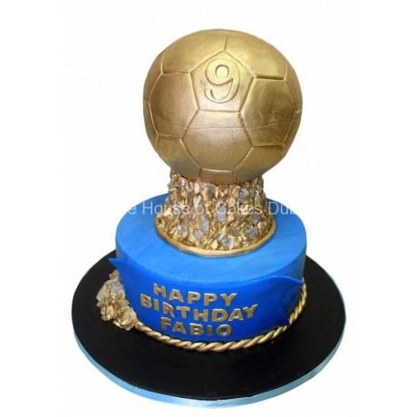 Golden Ball Cake