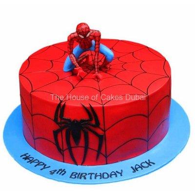Spiderman cake 26