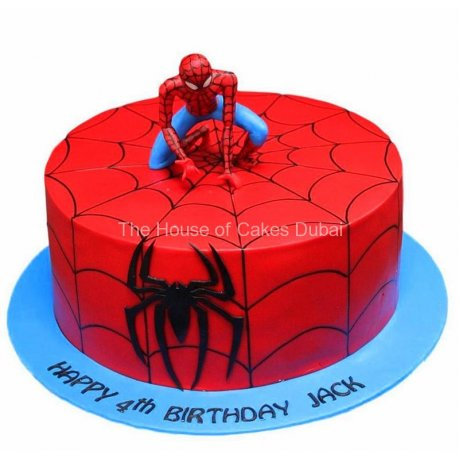 spiderman cake 26 6