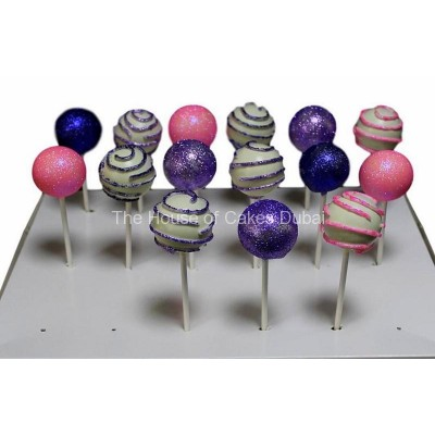 Glitter cake pops 2
