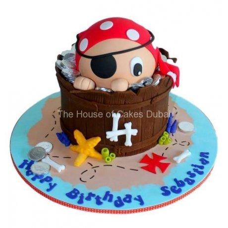 Pirate cake 21