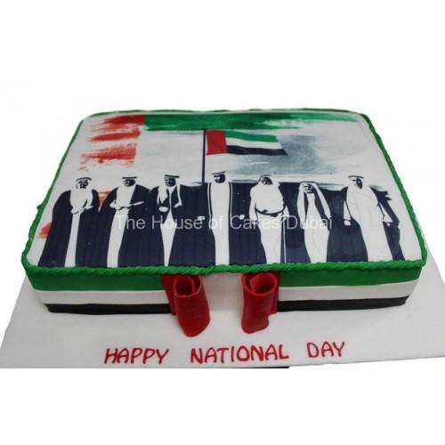 UAE national day cake 8