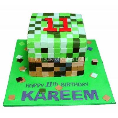 Minecraft cake 19