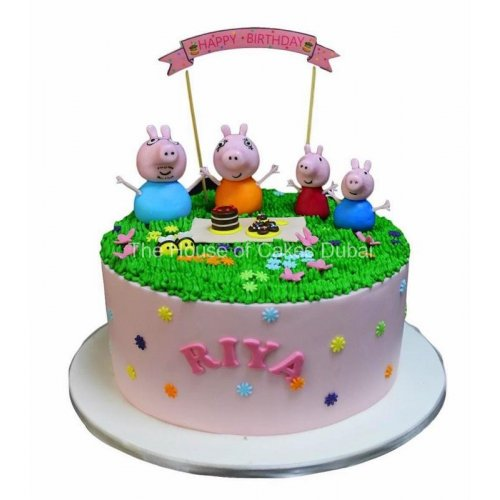 Peppa Pig Cake 16