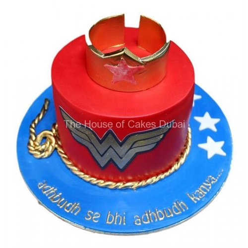Wonder woman cake 2