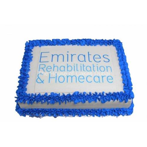 emirates rehabilitation cake 13
