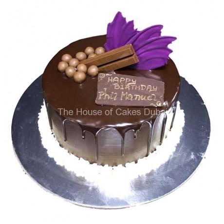 chocolate fantasy cake 5 6