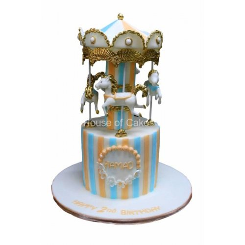 carousel cake 1 7