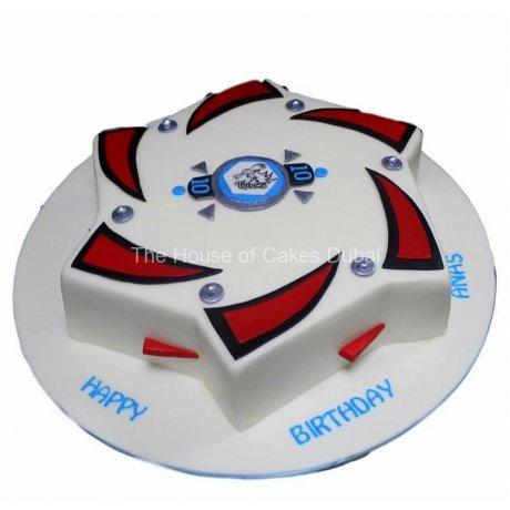 Beyblade cake 2