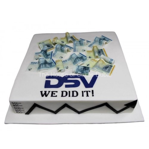 dsv cake with money 7