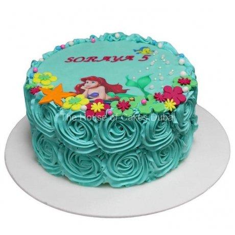 ariel mermaid cake 21 6