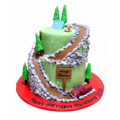 Adventurer cake
