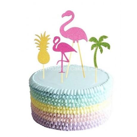 flamingo cake 5 6