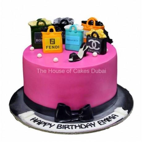 born to shop cake 7