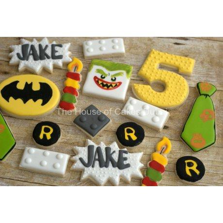 5th birthday cookies set 6